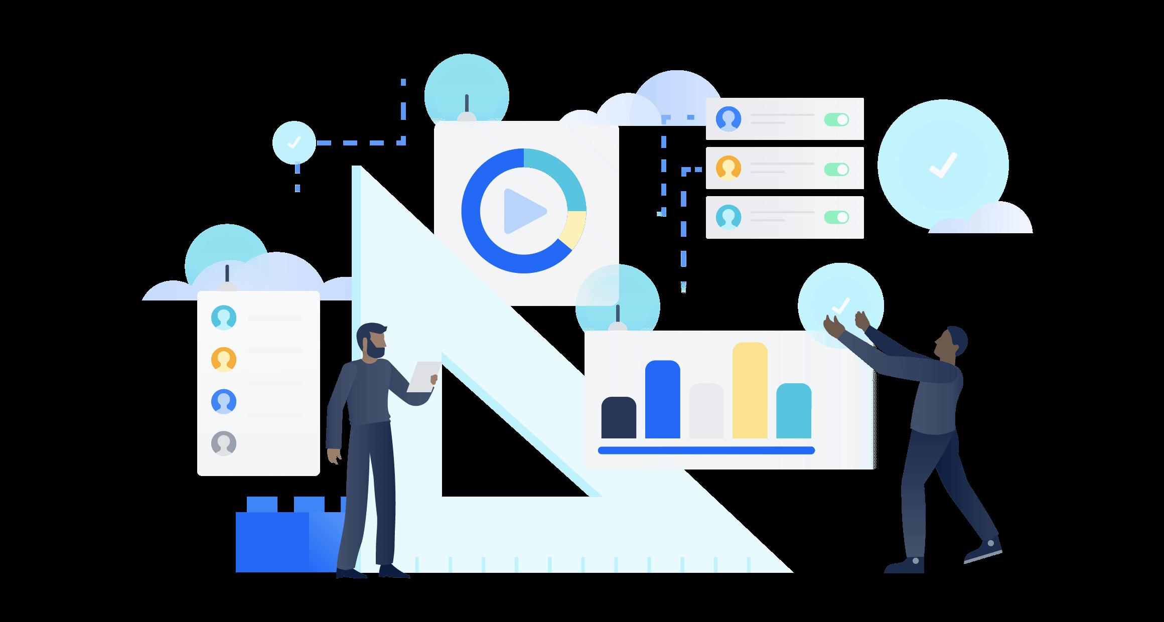 Cloud Enterprise illustration