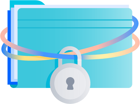 Locked document folder