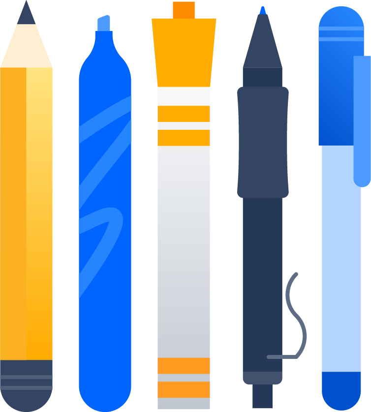 Bolígrafos y rotuladores