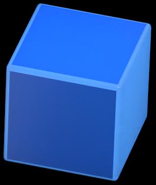 Floating cube