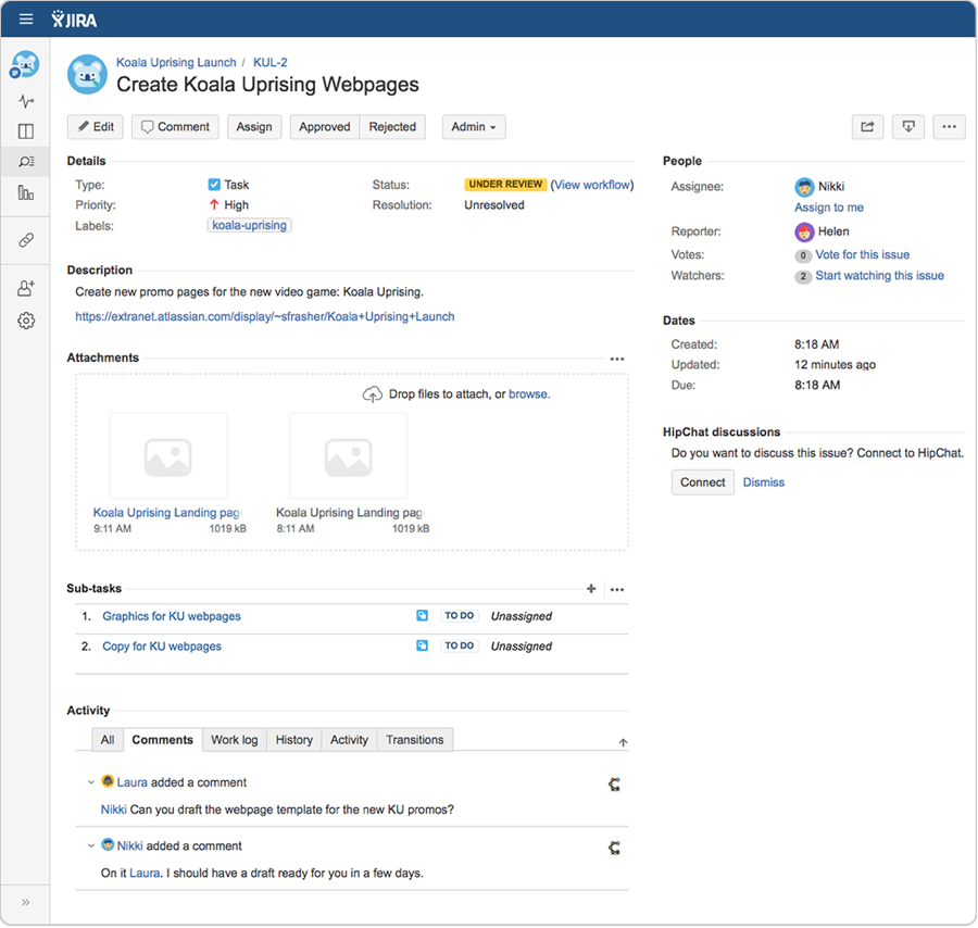 project-management-software-jira-core-project-overview-screenshot