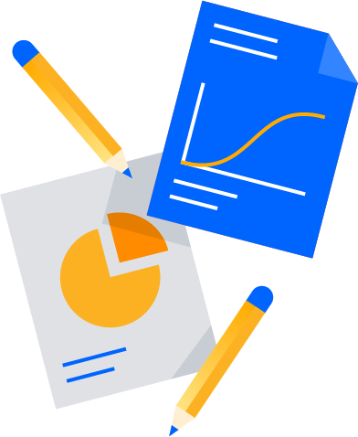Diagramme und Stifte