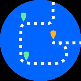 Cartographie du parcours