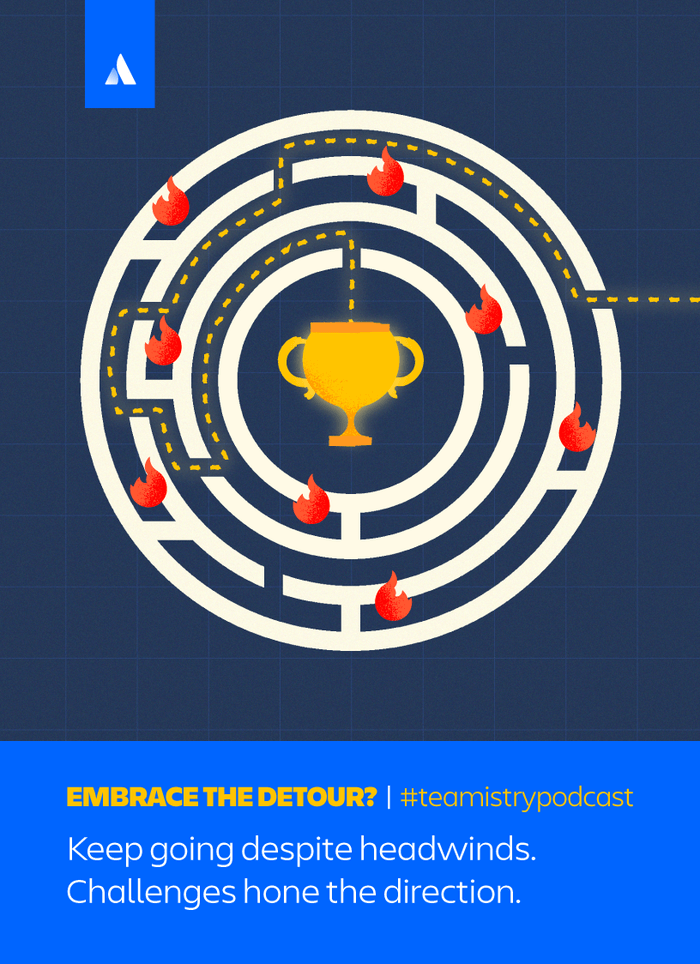 Embrace the detour card