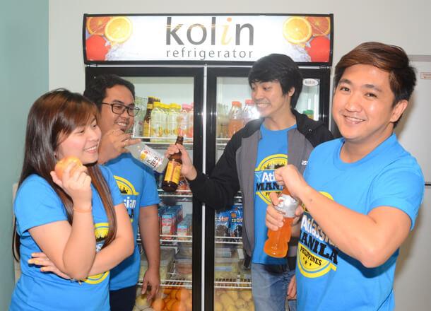 Employees at Atlassian Manila