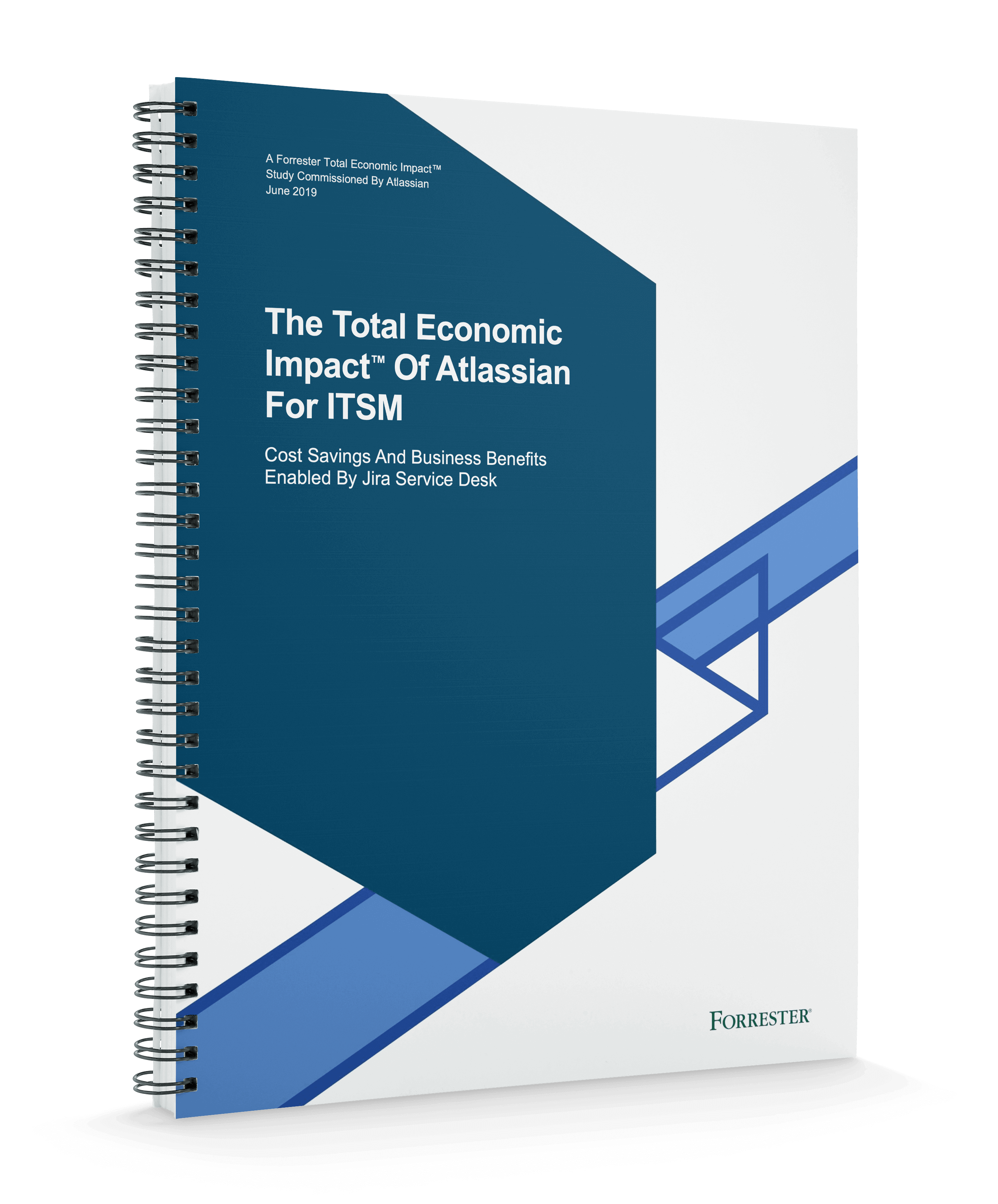 Einband von The Total Economic Impact™ Of Atlassian For ITSM