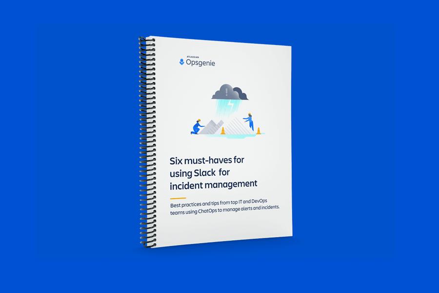 6 Must Haves for using Slack for Incident Management PDF cover
