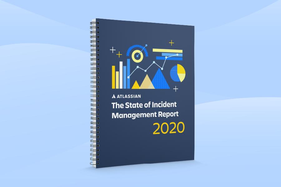 Omslag met rapport over de status van incidentmanagement 2020