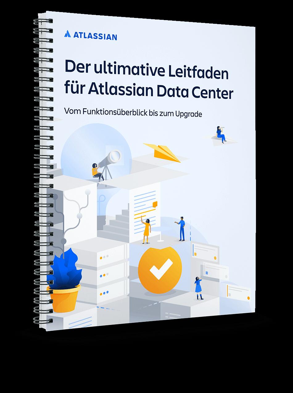 """PDF-Vorschau von """"Der ultimative Leitfaden für Atlassian Data Center"""""""