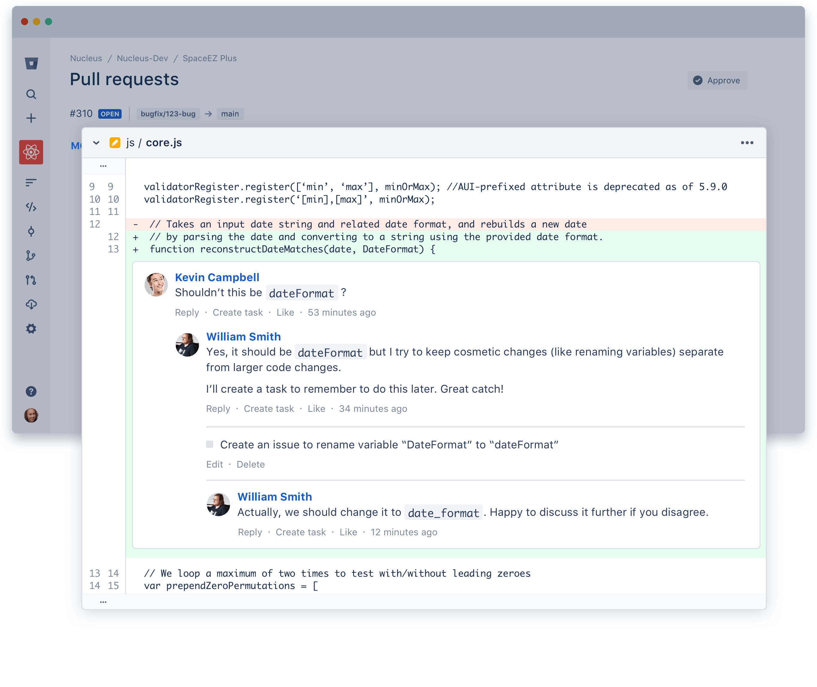 Adding commits in SourceTree