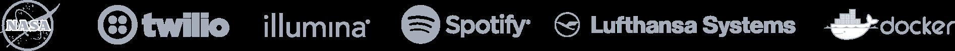 Überblick– Kundenlogo-Balken