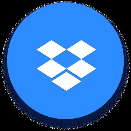 Dropbox 徽标