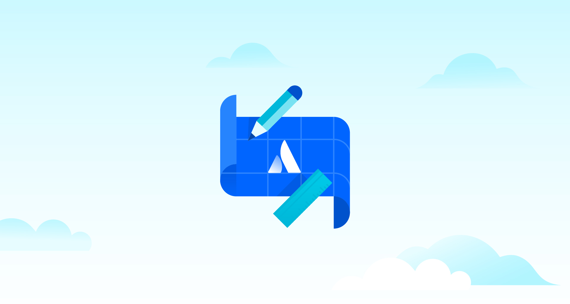 Atlassian blueprint illustration