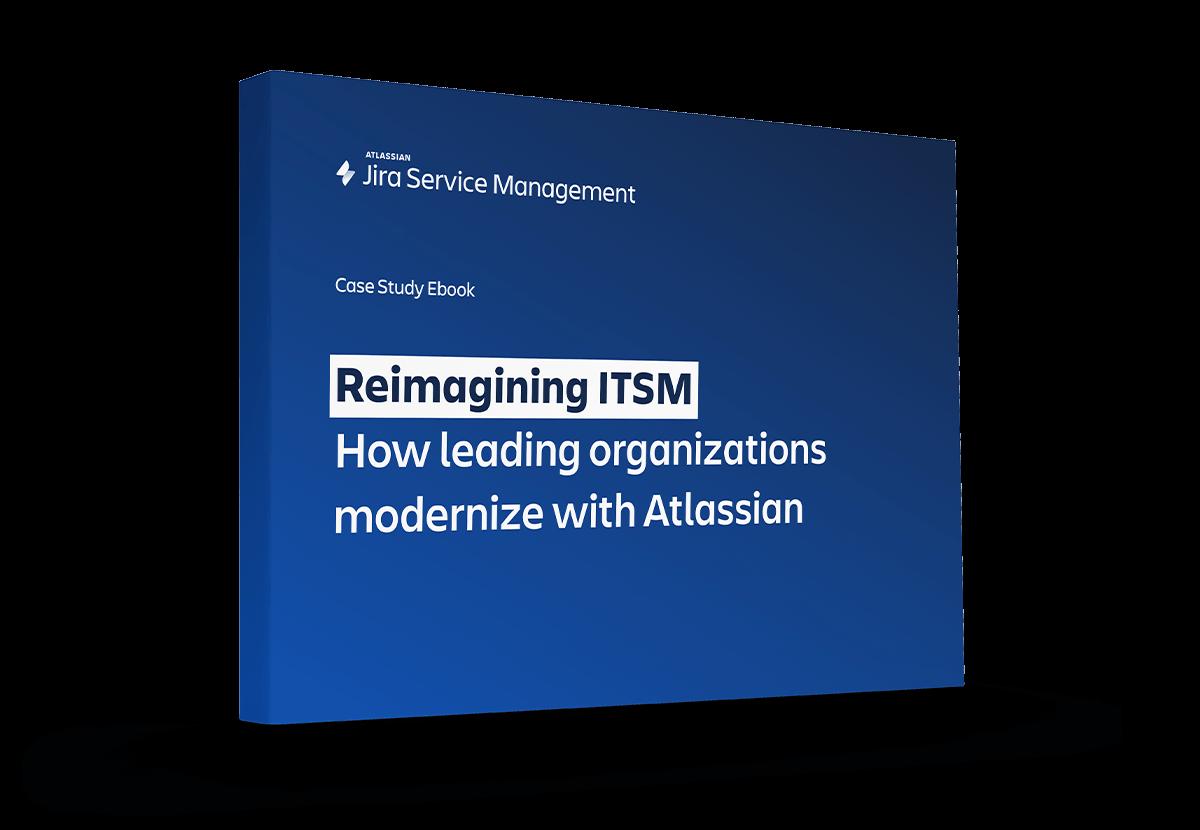 《重新构想 ITSM》封面图