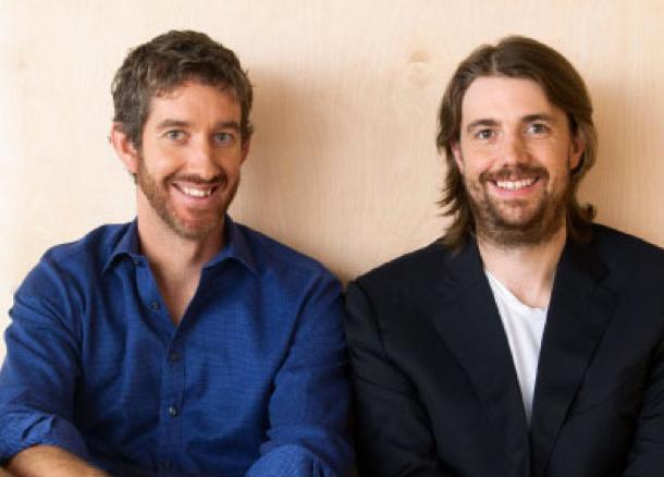 Unsere CEOs Mike und Scott