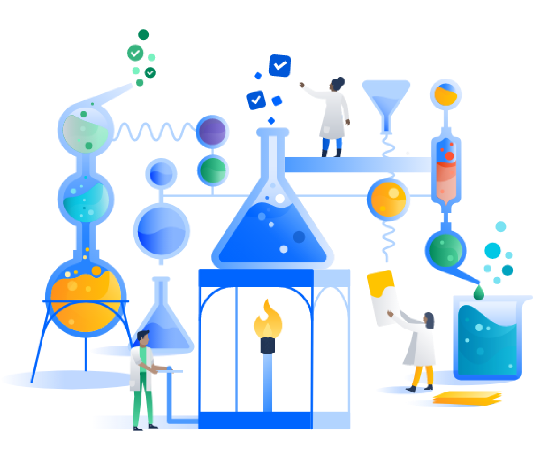 Experimentierende Figuren