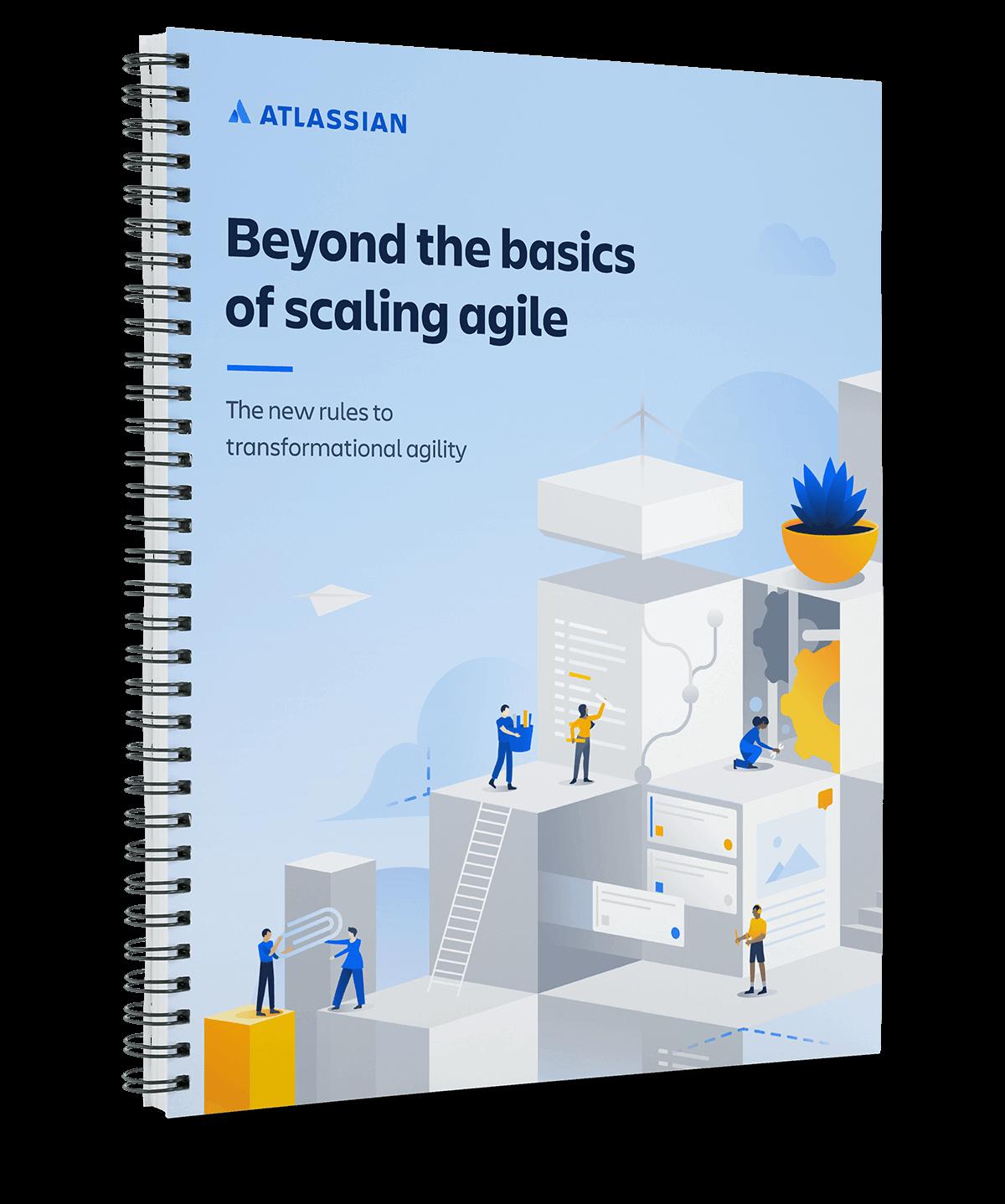 Couverture du livre blanc «Agile à grande échelle»