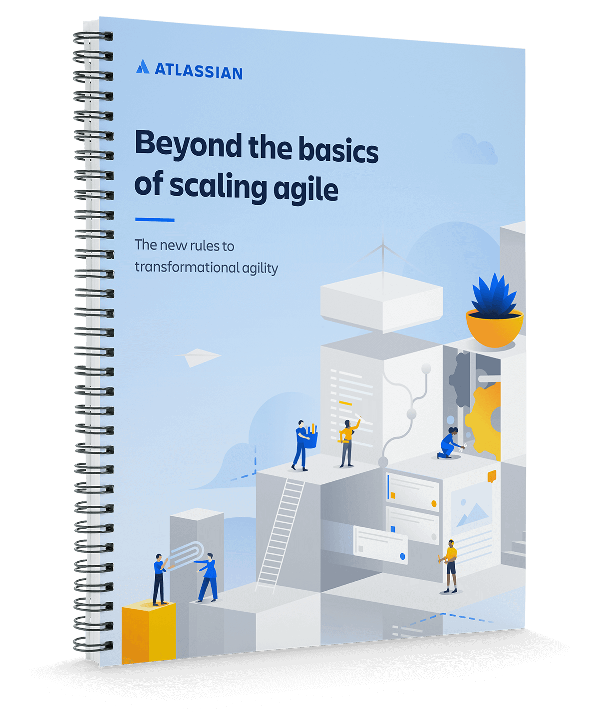 Обложка документа «Agile-подход при любом масштабе»