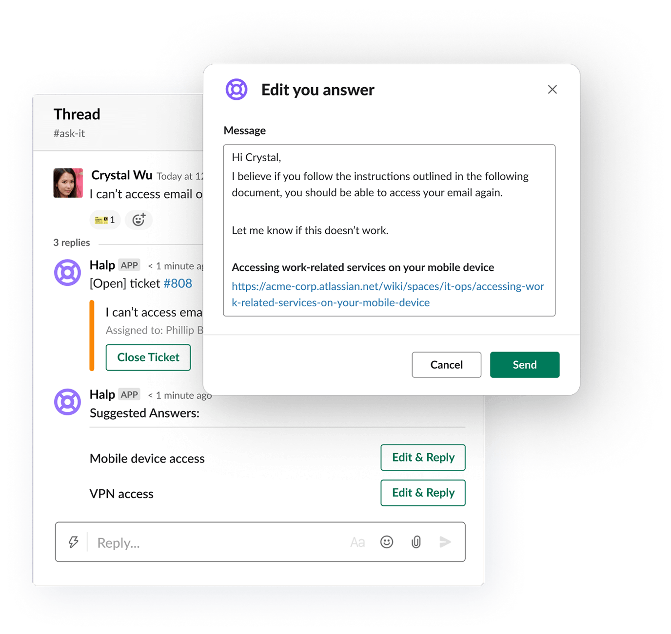 Automate responses and more