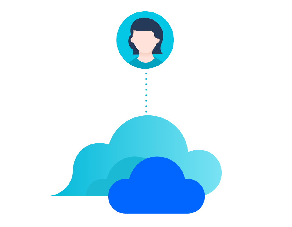 Stage migration public cloud illustration