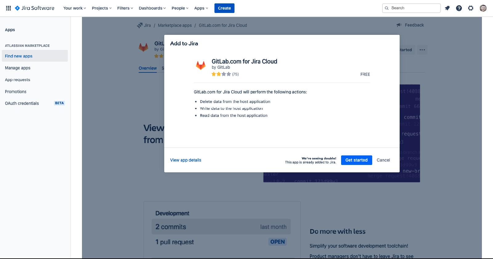 GitLab.com for Jira Cloud