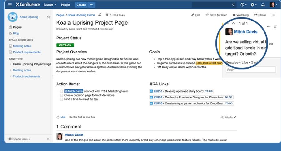 project-management-software-confluence-inline-comment-screenshot