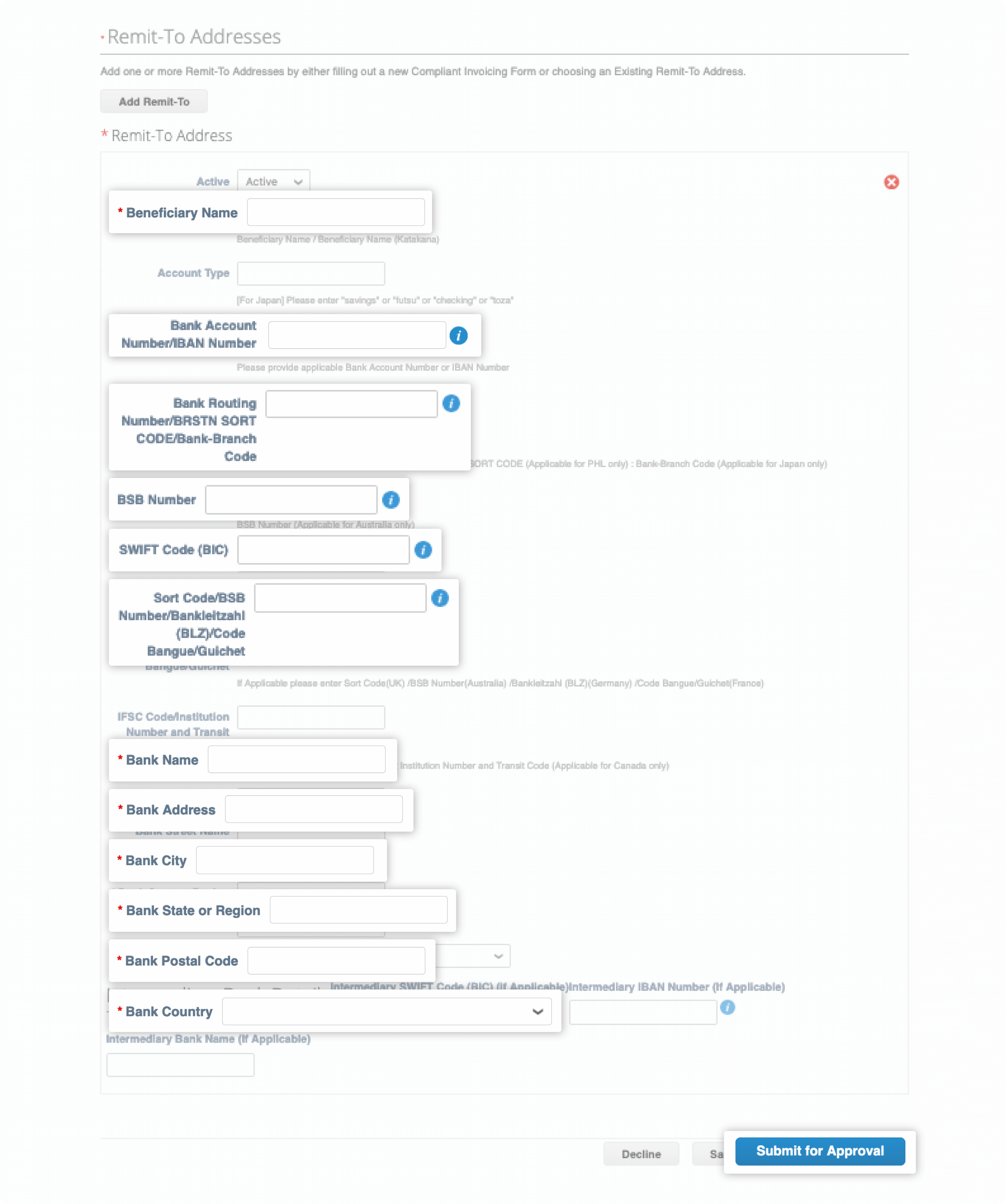 Scroll down and go to Payment section, click the dropdown arrow to display payment date