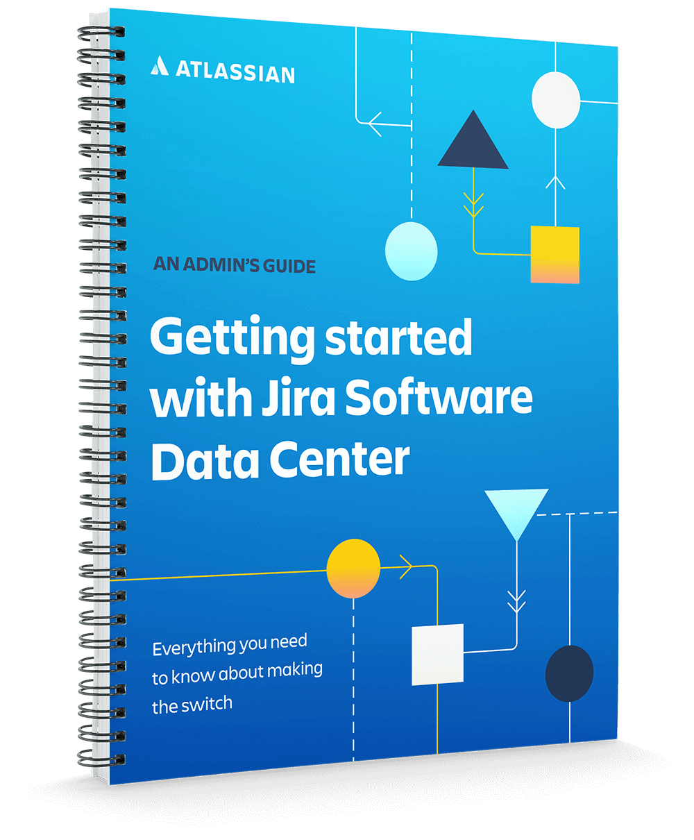 Getting started with Jira Software Data Center cover page