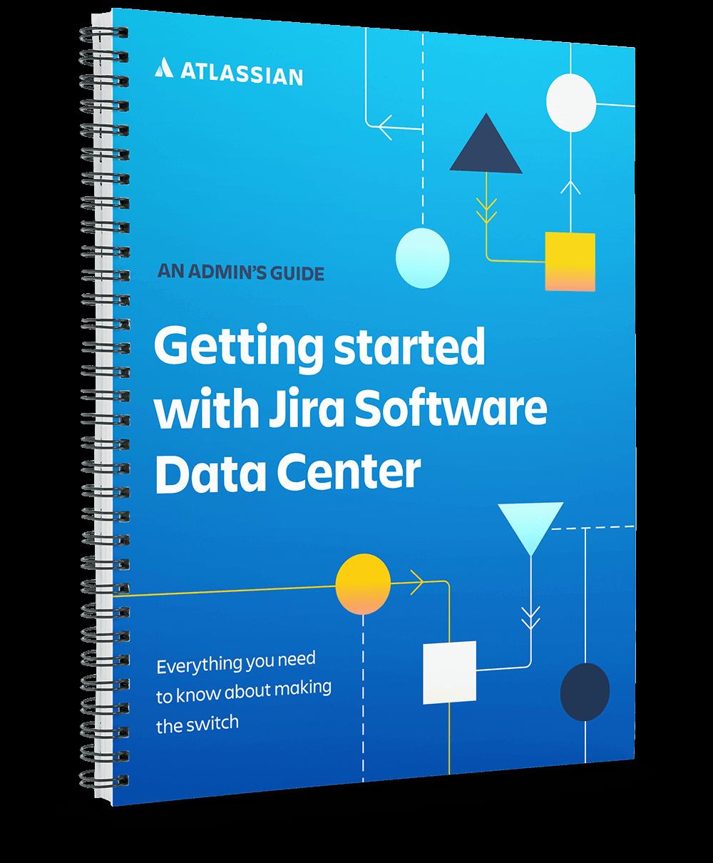 Начало работы с Jira Software Data Center: изображение для предварительного просмотра PDF-файла