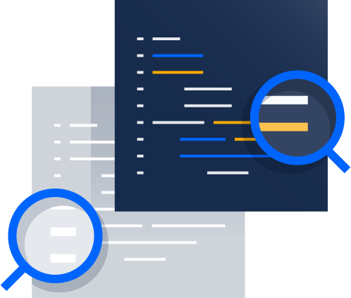 Code review illustration