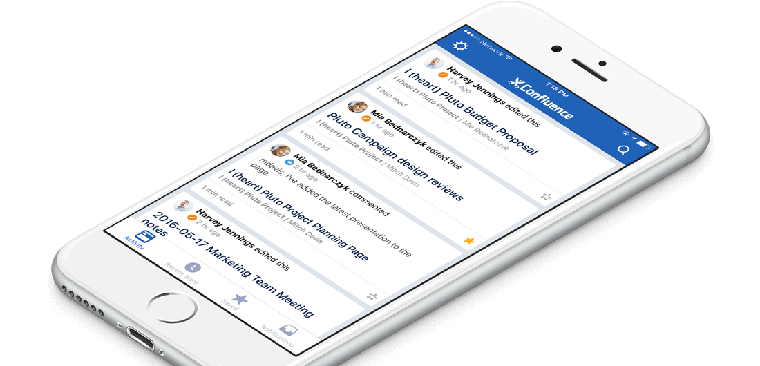 Confluence for iOS