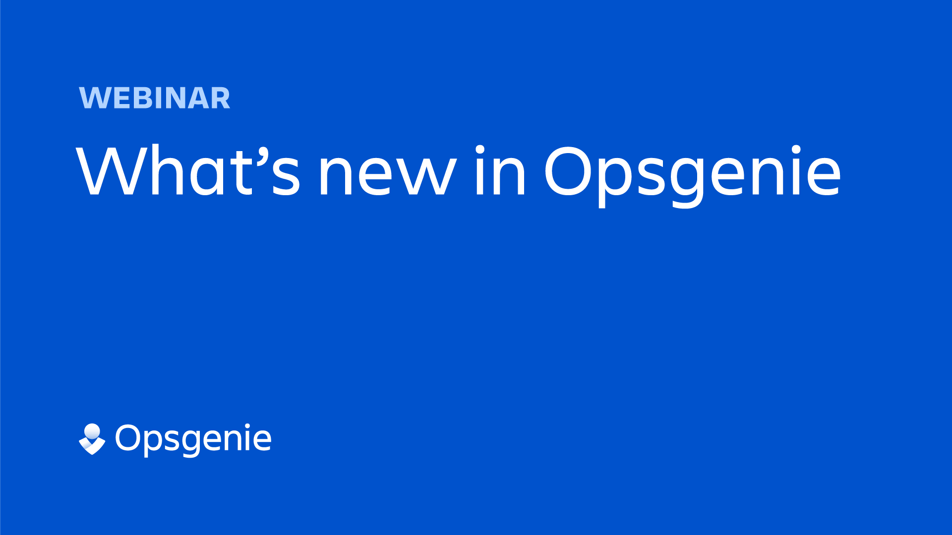 What's new in Opsgenie thumbnail