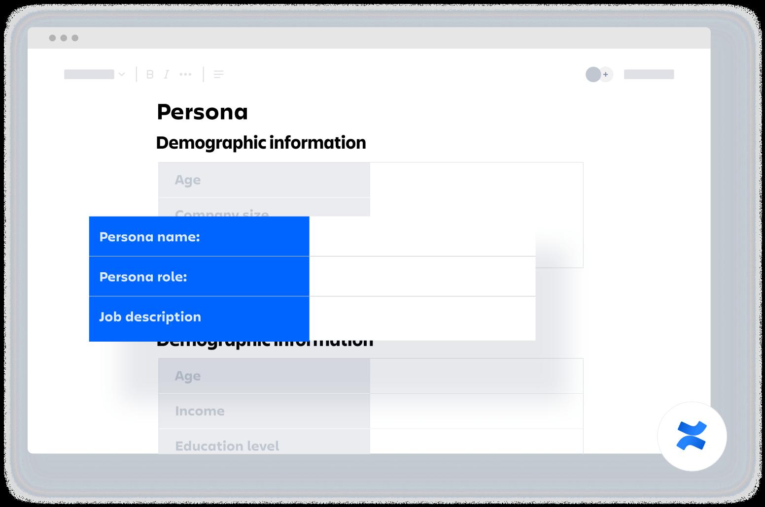 Profil klienta — szablon Confluence