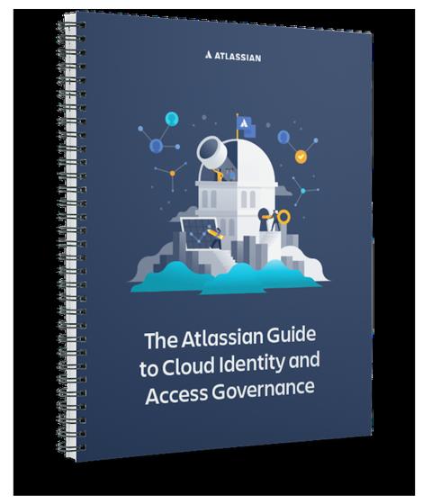 Przewodnik Atlassian po zarządzaniu tożsamościami i dostępem w chmurze — obraz okładki