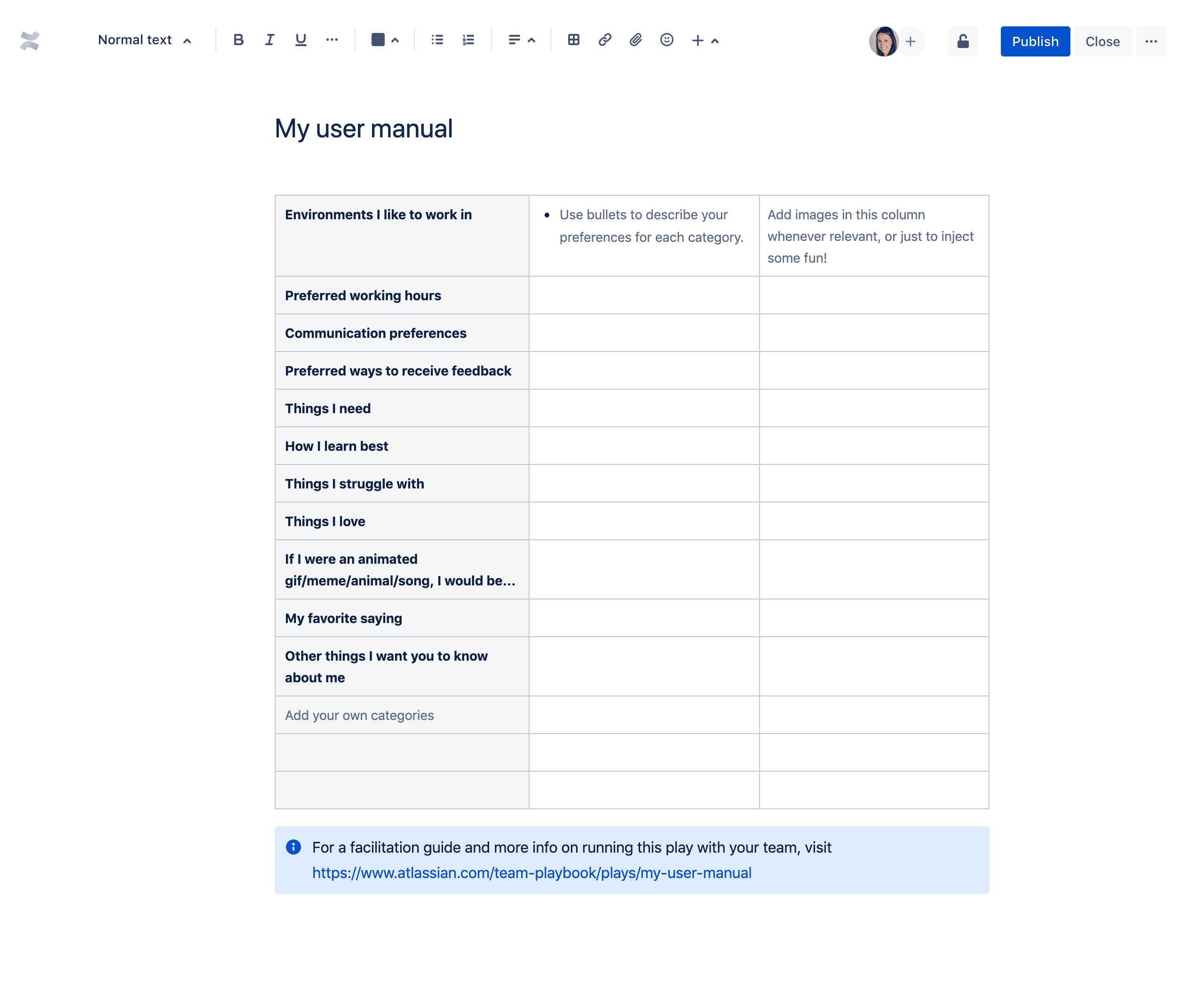 Plantilla Mi manual de usuario