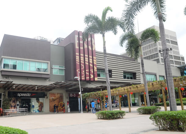 High Street in Manila