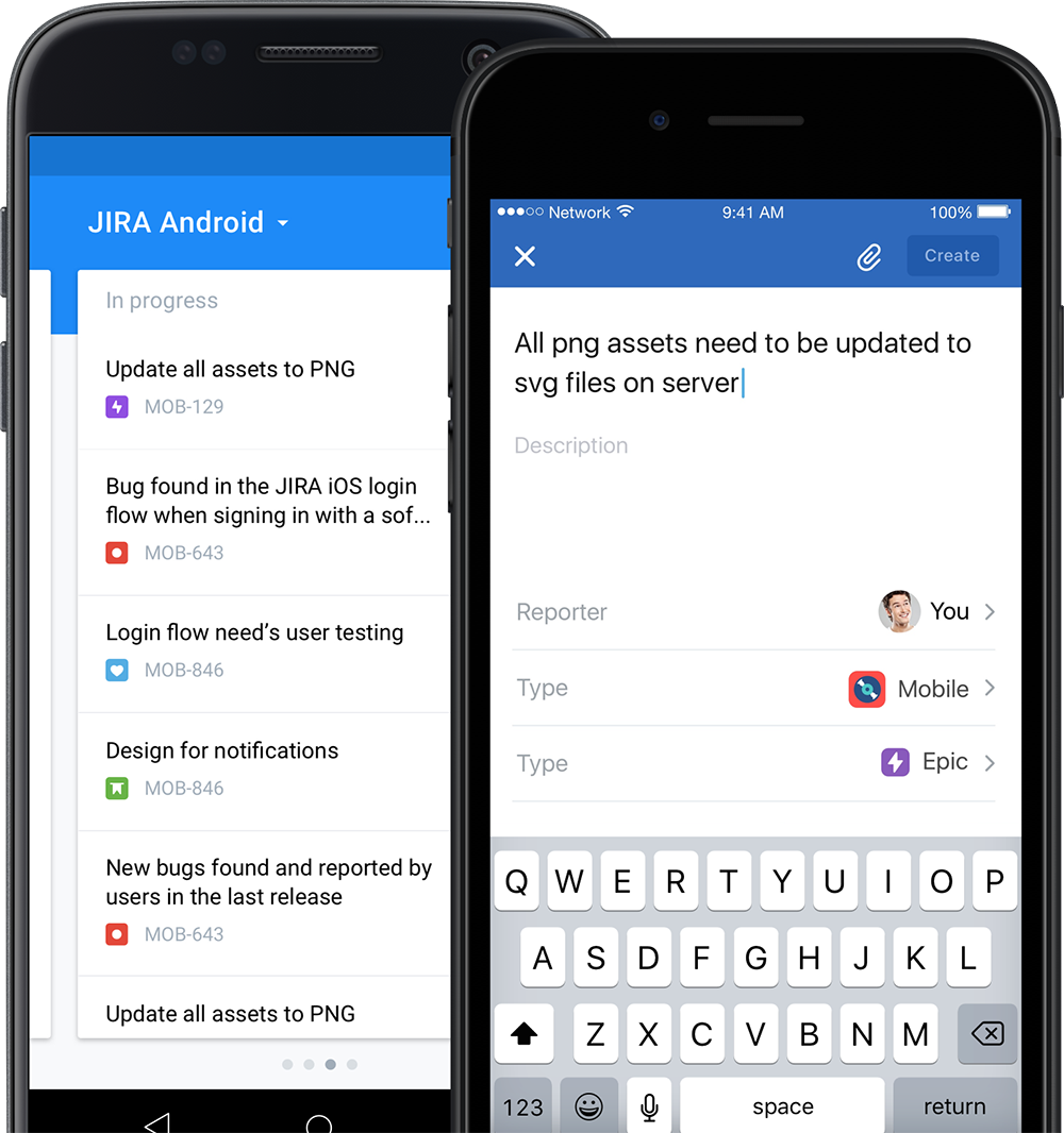 JIRA Software for iOS