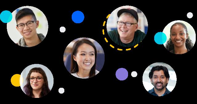 Headshots of Atlassians