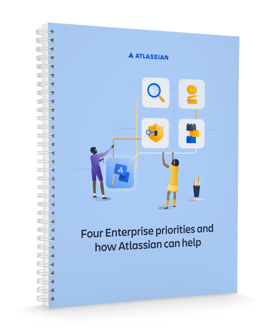 For Enterprise priorities and how Atlassian tools can help cover page