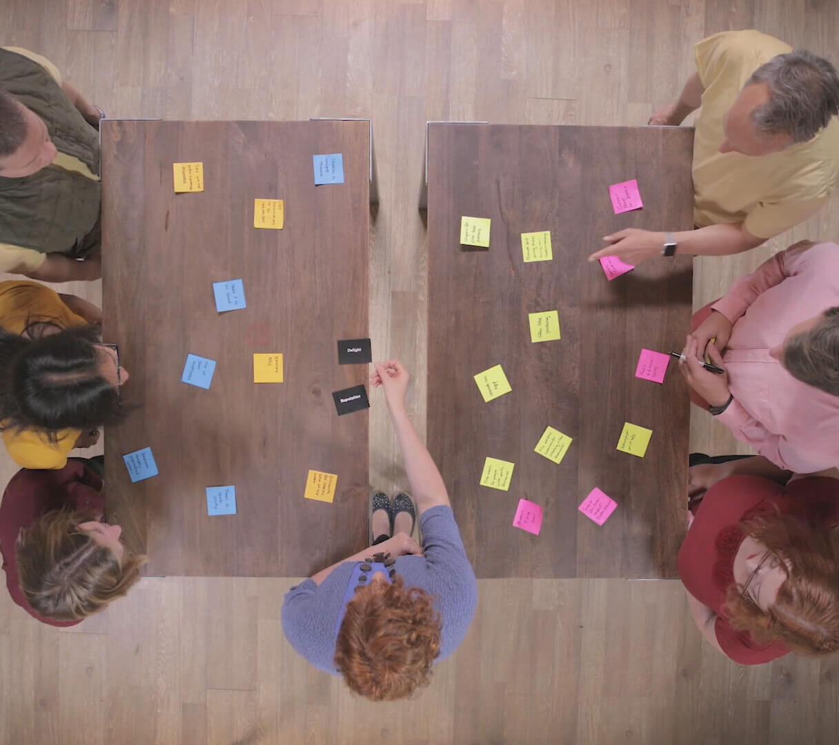 Advanced brainstorming technique