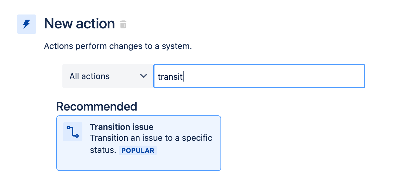"""Adding component of """"transit"""" to issue"""