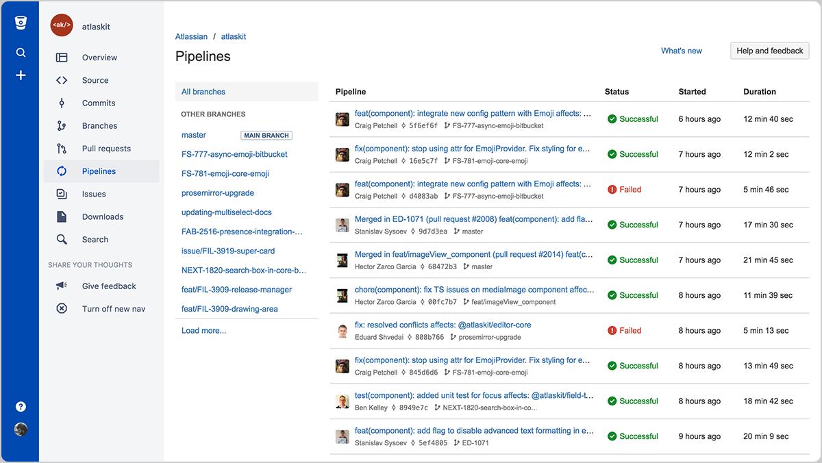 Благодаря Bitbucket Pipelines каждая отправка кода в репозиторий проверяется