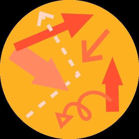 Het oneens zijn over de richting is een teken dat je project risico loopt.