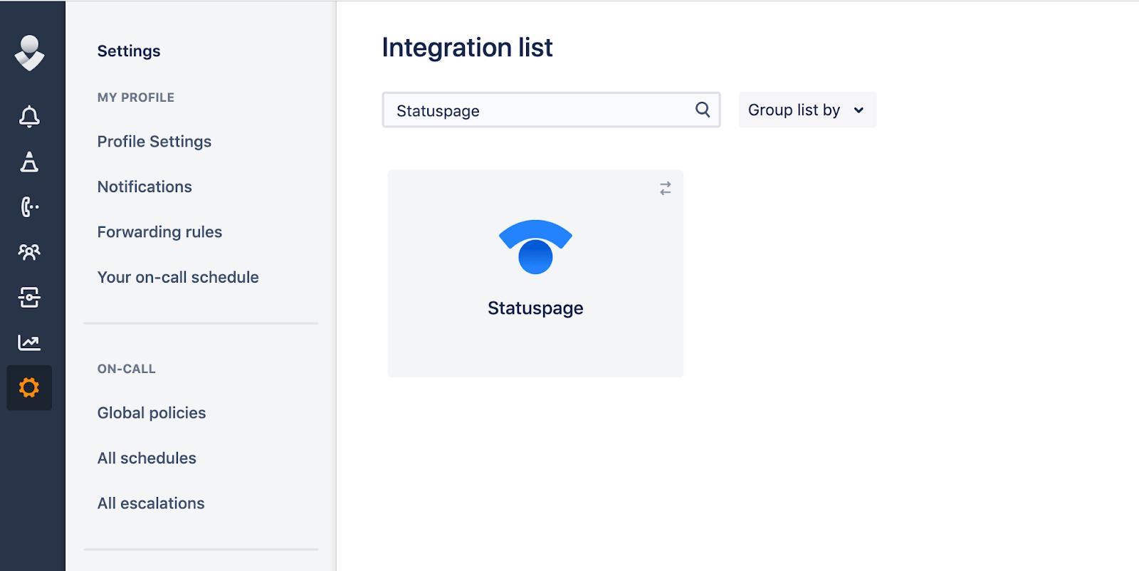 Список интеграций от Opsgenie