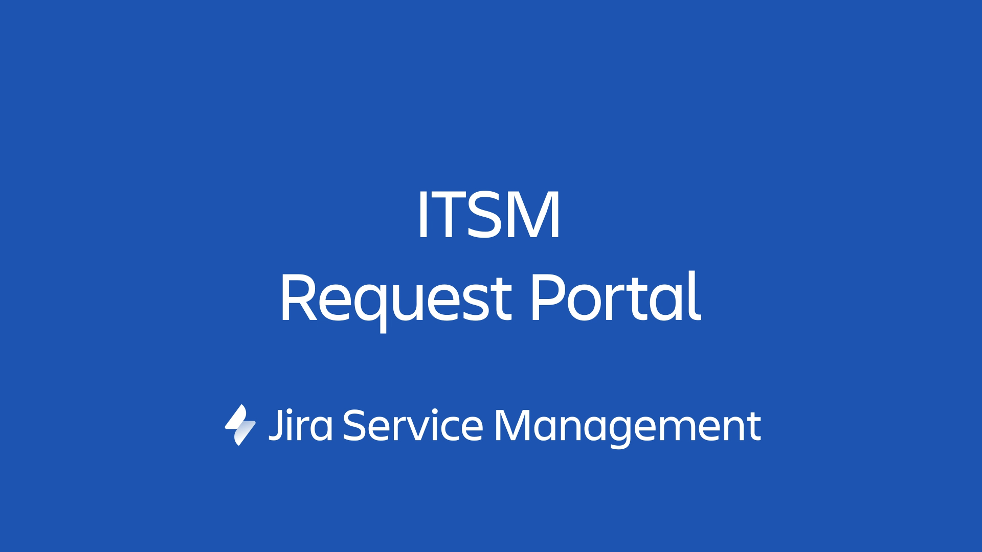 ITSM-Anfrageportal in Jira Service Management