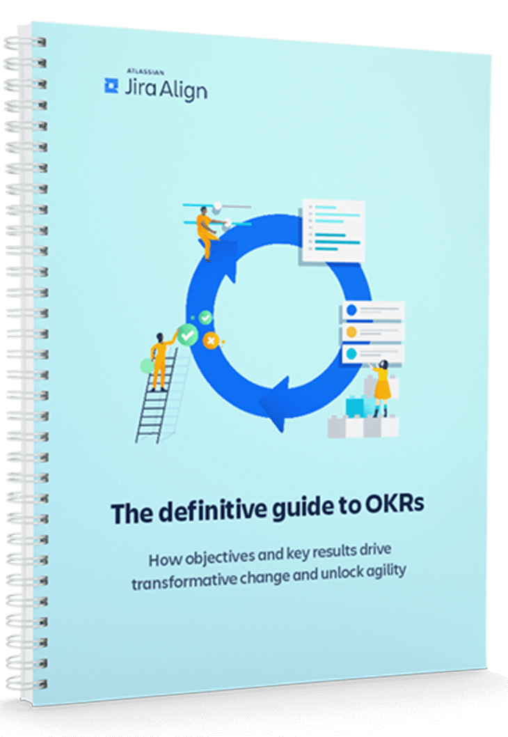 The definitive guide to OKRs Cover