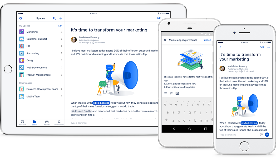 Atlassian mobile collaboration tools | Atlassian