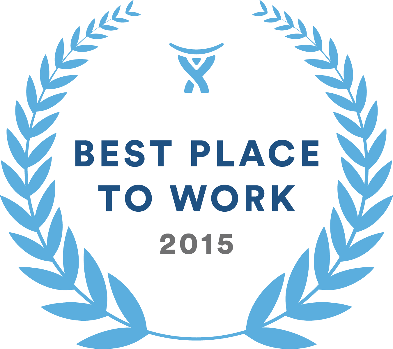 Best Place to Work 2015 award logo