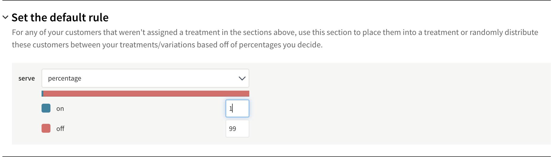 Set default