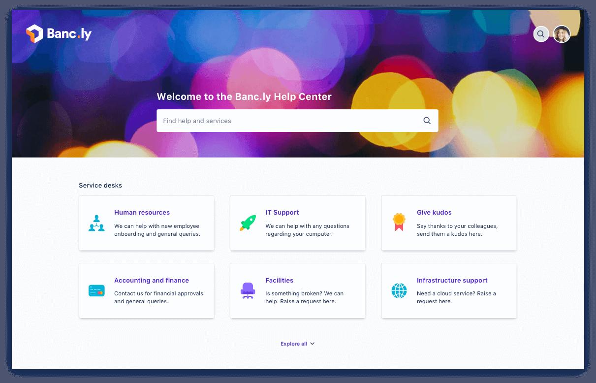 Self-Service-Portal